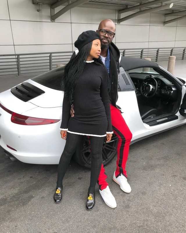 Black Coffee and Enhle Mbali