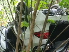 Robbers car