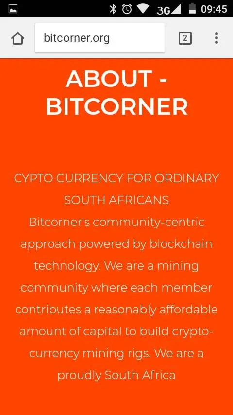 bitcorner.org scam
