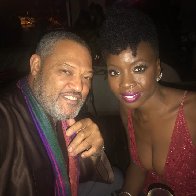 Danai Gurira at Avengers: Infinity War Premiere After party