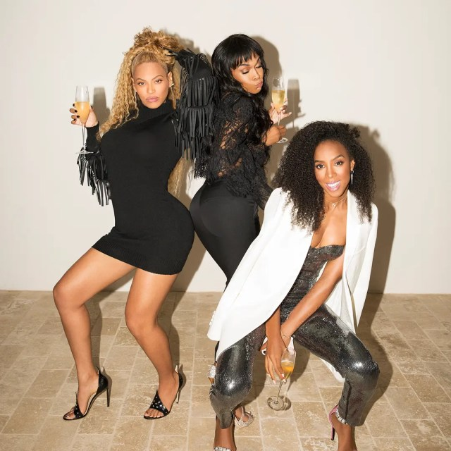 Beyoncé, Kelly Rowland and Michelle Williams