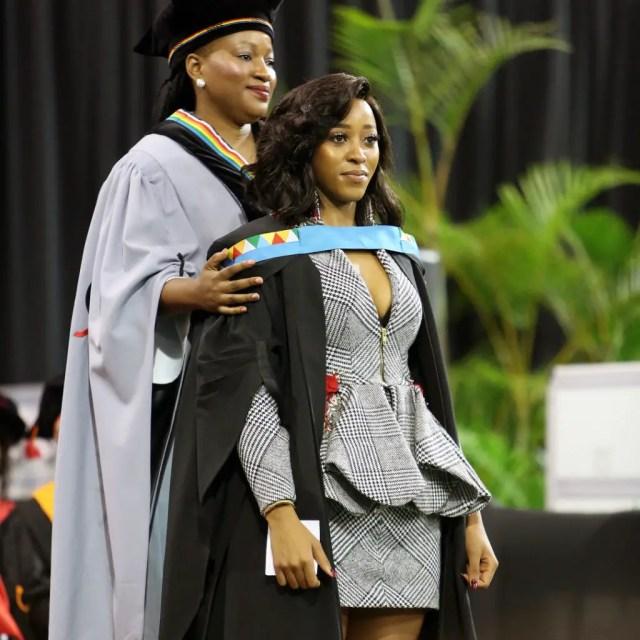 Sbahle Mpisane Graduation
