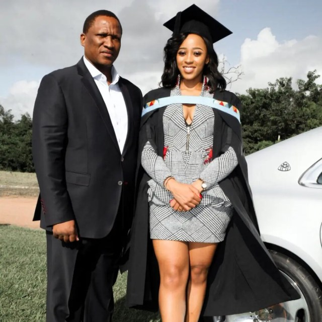 Sbahle Mpisane Graduation Pictures
