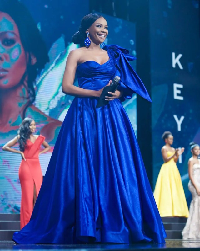Bonang Matheba at Miss SA Event