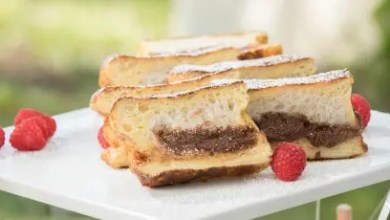 Photo of Chocolate Cheesecake and Stuffed French Toast: RECIPE