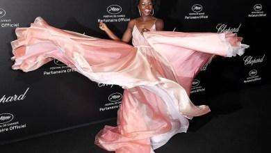 Photo of Lupita Nyong'o's Prada Princess Moment at the Cannes Film Festival