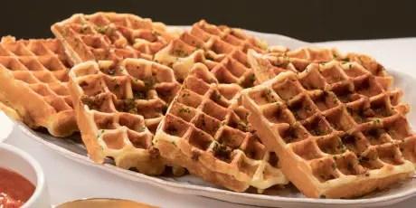 Parmesan Waffles