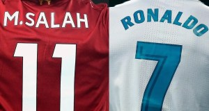 Salah and Ronaldo
