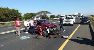 Kia Picanto Rolls Over
