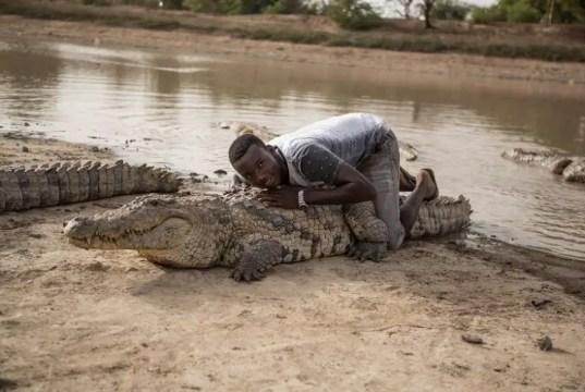 Burkina Faso crocodiles