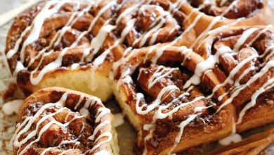 Photo of Cinnamon Buns With Coffee Icing: RECIPE