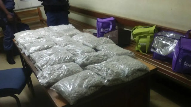 Confiscated drugs