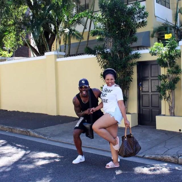 Phindile Gwala and Armando Ngandu