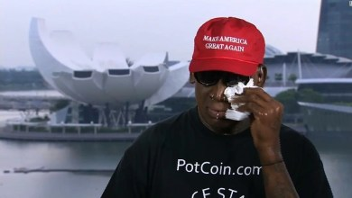 Photo of Internet reacts to US actor Dennis Rodman crying on TV: Memes