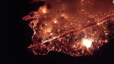 Photo of Hawaii volcano's bubbling lava is enough to cover Manhattan