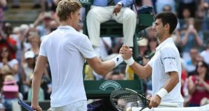 Anderson and Djokovic