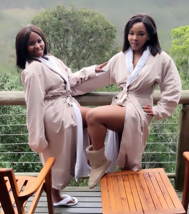 Carol Tshabalala and Becky Pulane Motumo