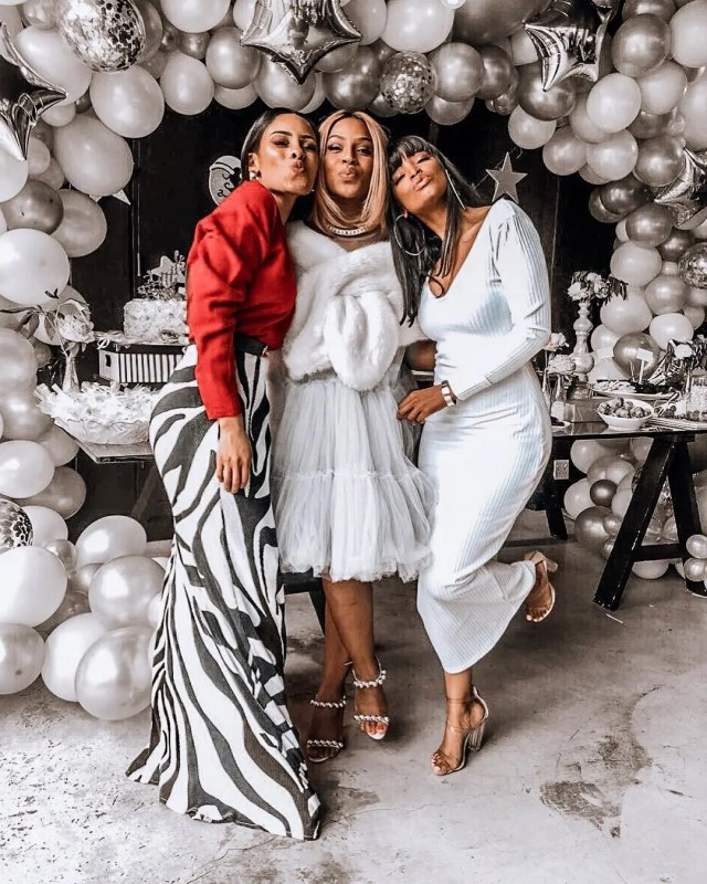 In Pics: Celebrities who attended Jessica Nkosi\'s baby shower ...