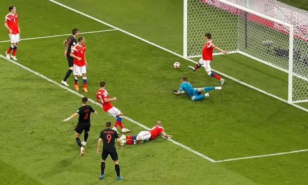 Russia 1 - 1 Croatia
