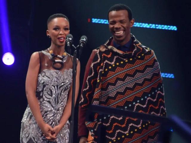 Zakes Bantwini and Nandi Mngoma
