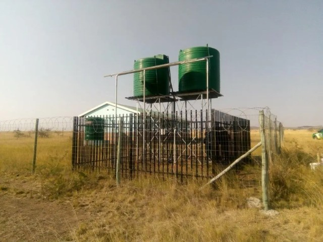 New borehole in Vryheid is a lifeline to more than 300 families