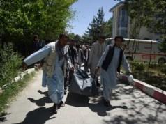 Afghan volunteers