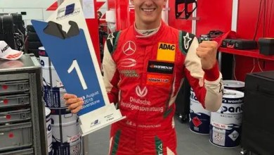 Photo of Mick Schumacher showing father Michael's racing genes – F1 legend Gerhard Berger