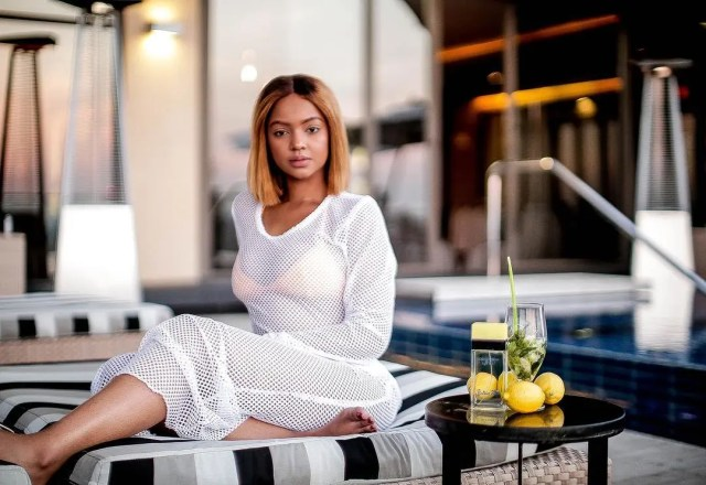 Pictures Of Make-up Artist Mihlali Ndamase Looking Amazing