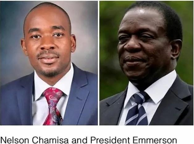 Mnangagwa Chamisa