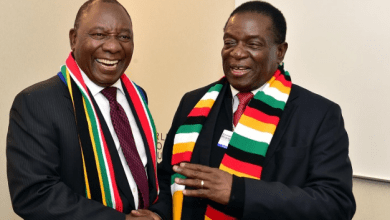Photo of One Love! Ramaphosa takes Zimbabwe sanctions fight to Davos