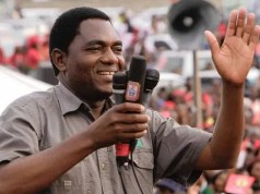 Zambian opposition leader