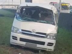 highway taxi crash