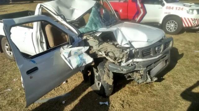 Bakkie crashes