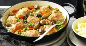 Chicken and mushroom
