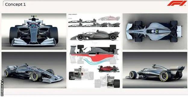 F1 car concept