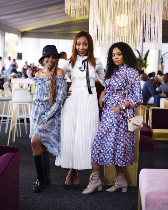 Mampho Brescia and Terry Pheto