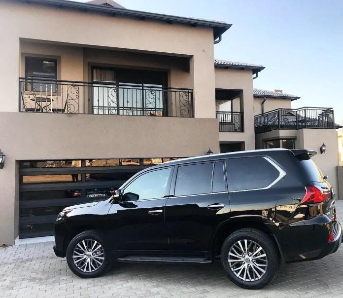 Pearl Thusi's Car