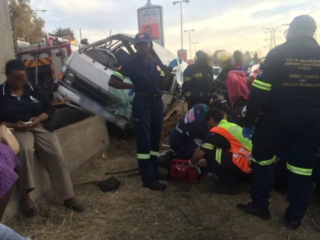 M1 accident