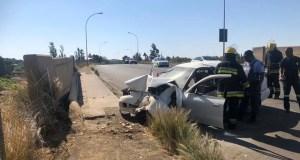 Bridge guard accident