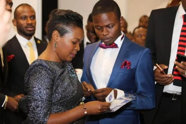 Shepherd Bushiri and wife