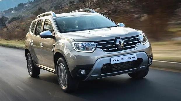Renault Duster road