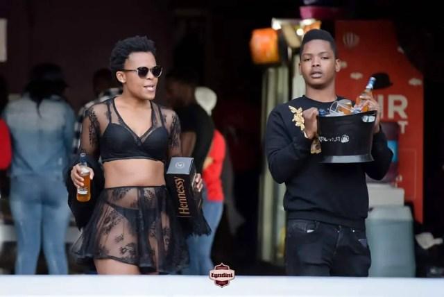 Zodwa Wabantu and Boyfriend