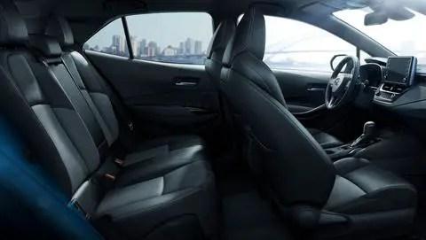 Corolla Sedan interior