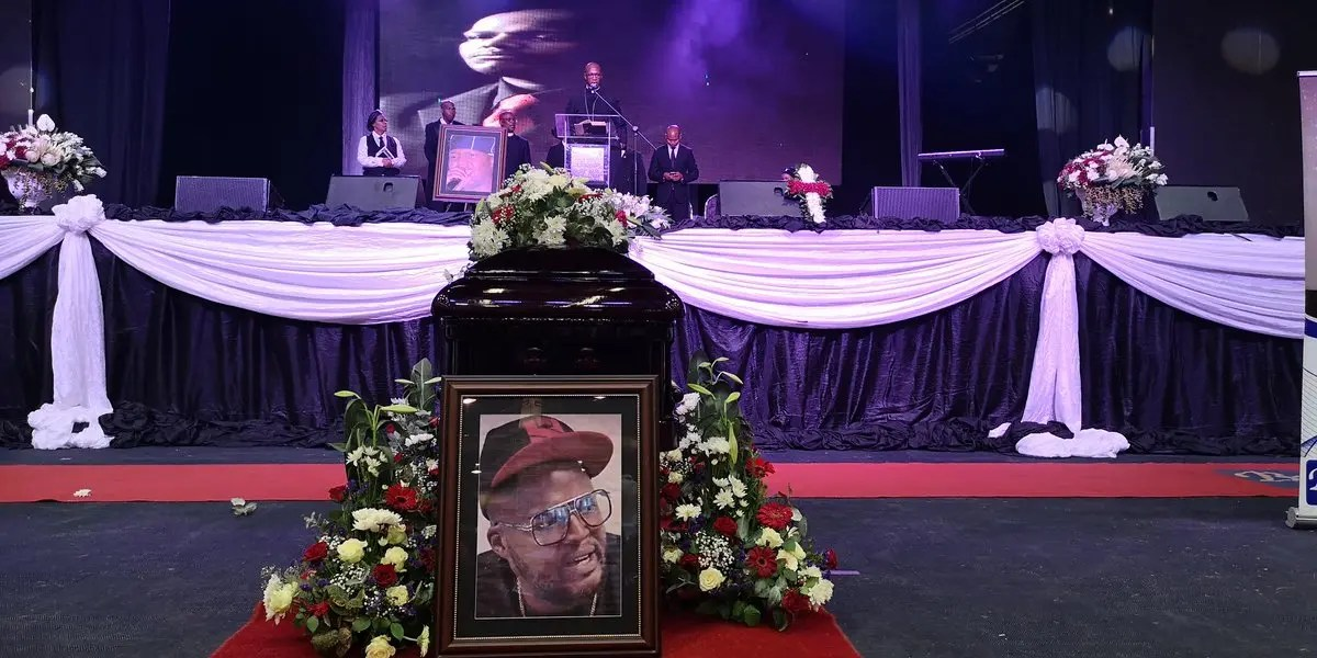 HHPFuneral: HHP's mom delivers a moving tribute to her son