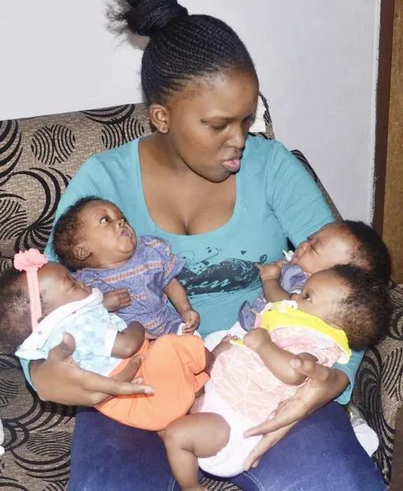 Inga Mafenuka with her quad
