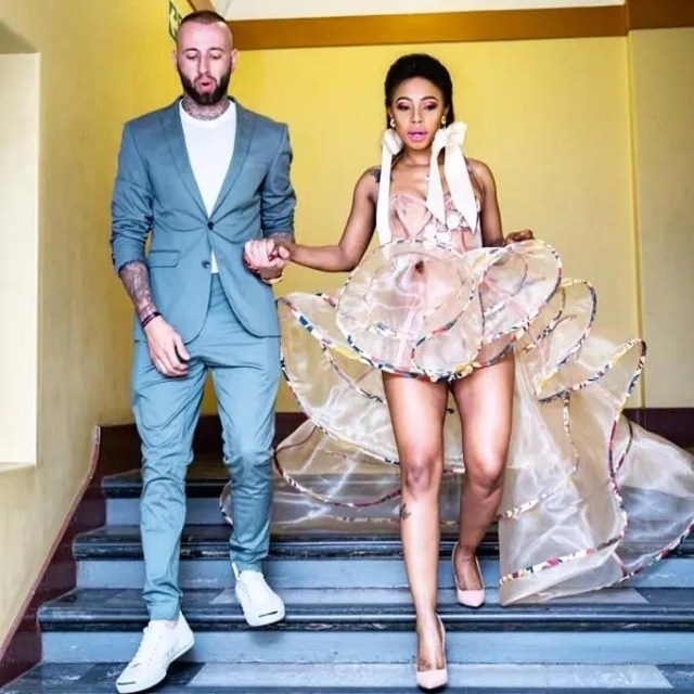 Kelly Khumalo and Chad
