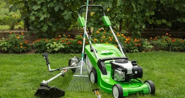 Garden service maintenance