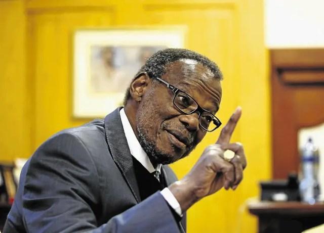 IFP leader Inkosi Mangosuthu Buthelezi