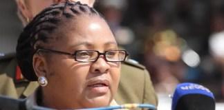Minister Nosiviwe Mapisa Nqakula