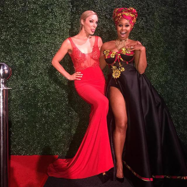 Minnie Dlamini and Jade Hubner